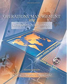 Operations management for competitive advantage 10th edition operations management for competitive advantage the mcgraw hillirwin series operations and decision fandeluxe Image collections