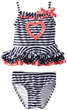 Flapdoodles Girls 2-6X Nautical Love 2 Piece, Mixed Print, 3T image