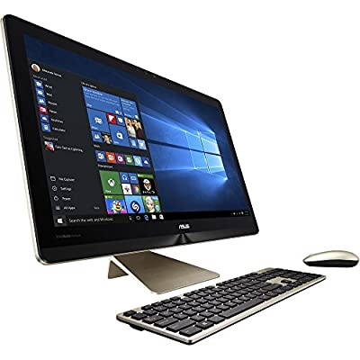 "ASUS Zen AIO Pro Z240-C4 All-in-One Desktop 23.8"" 4K UHD Touchscreen, Core i7-6700T, 1TB SSHD 8GB DDR4, NVIDIA GTX960M (Certified Refurbished)"