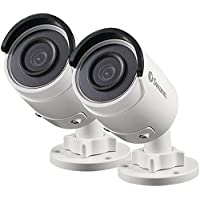 Swann SWNHD-850PK2-US , NHD-850 5MP Super HD IP Security Bullet Cameras w 100ft Night Vision 2 PACK