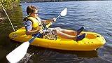 Pelican Solo Sit-On Kayak, 6-ft, Yellow