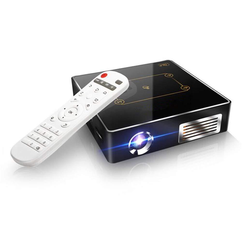 ミニプロジェクター、200インチディスプレイ対応、1万時間LEDランプ寿命の150 ANSIルーメンポータブルムービープロジェクター、HDMI、TF、USBに対応   B07MM4SDQY