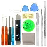 Best iPhone Repair Kits - 14 in 1 repair replacement cleaning tool kit Review