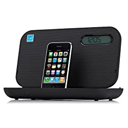 iHome iP49 Portable Rechargeable FM Speaker System with Bongiovi DPS
