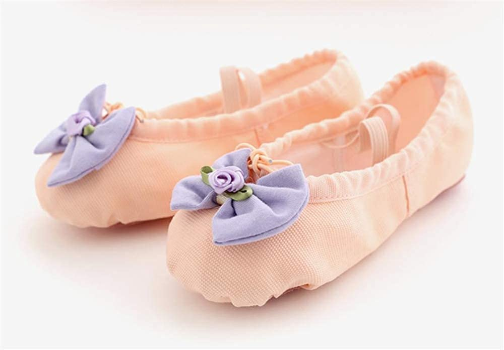 Toddlers Classic Ballet Flat Shoes Apricot-EU 27//10 M US Toddler