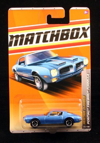 PONTIAC FIREBIRD FORMULA BLUE Heritage Classics Series (#2 of 12) MATCHBOX 2011 Basic Die-Cast Vehicle (#15 of 100) by Matchbox