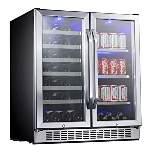 EdgeStar 30 Inch Built In Wine and Beverage Cooler