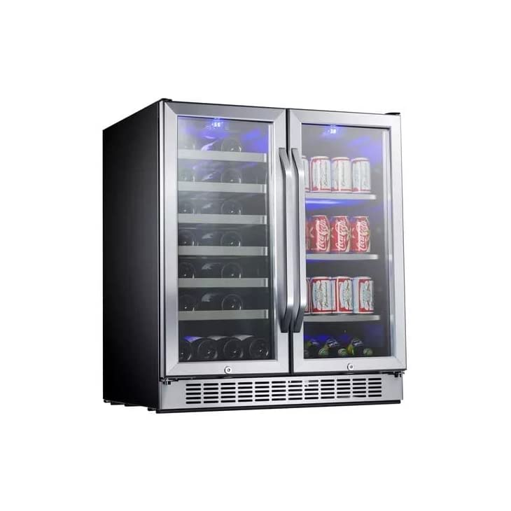 EdgeStar 30 Inch Built In Wine and Beverage Cooler