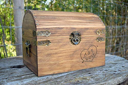 ox - Rustic Wedding Decor - Wedding Card Box - Rustic Wedding Card Box - Wedding Card Holder - Personalized Card Box ()