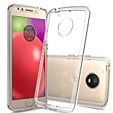Moto E4 Case USA Version, E4 Phone Clear Case with Screen Protector,Anoke Scratch Resistant Glitter Cute Grils Women Boy Men Thin Slim Fit TPU Protective Cover for Motorola Moto E(4th Generation)TM