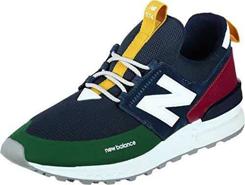 Sneakers New verde Blu Uomo Balance Ms574dtz f7wq74pz