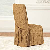 Matelasse Damask Dining Room Chair Cover