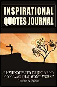 inspirational quotes journal diary with inspirational