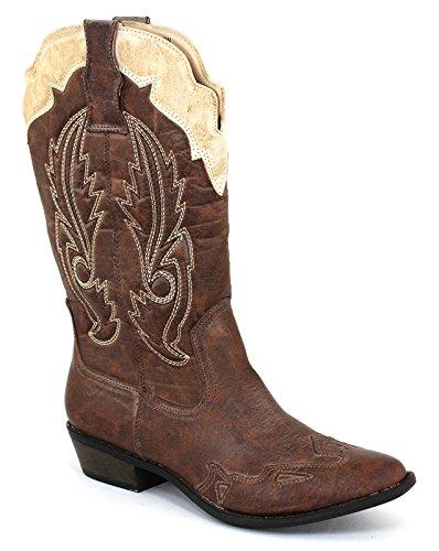 Ladies Cowboy Boots - 1