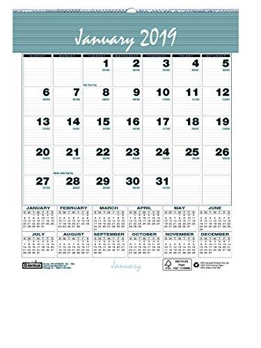 House of Doolittle 2019 Monthly Wall Calendar, Bar Harbor, 6 x 7 inches, January - December (HOD330-19) (Doolittle Bar)