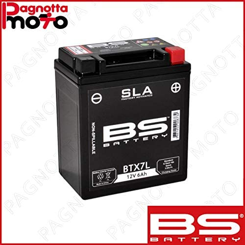 Batterie Bs Batterie Sla Sigillata Btx7l Aprilia Rs4 125 2011 2013 Auto
