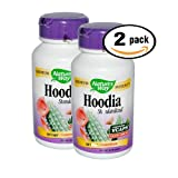 Pack of 2 60 Vcaps Nature's Way Hoodia Gordonii Dietary Supplement