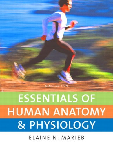 Essentials of Human Anatomy & Physiology (9th Edition) by Marieb Elaine N. (2009-10-24) Paperback