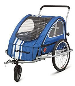 Amazon.com : Schwinn Mark II Bike Trailer and Stroller ...