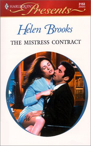 book cover of The Mistress Contract