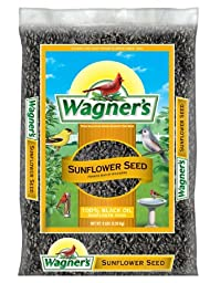 Wagner\'s 52023 Oil Sunflower Seed, 5-Pound Bag