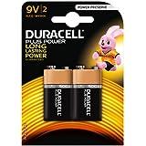 Duracell Plus DUR9VK2P 9 V celdas de batería unidades 2 mn1604/6lr6