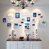 Home@Wall photo frame Photo Wall Combination Living Room Bedroom Photo Wall Minimalist Modern Children's Room Photo Frame Wall (Color : C)