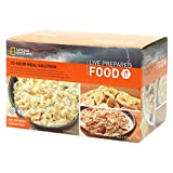 Product review for National Geographic Live Prepared Emergency Food 72 Hour Meal Solution Box Kit