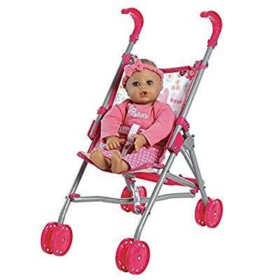 Adora Doll Accessories My First Doll Small Umbrella Toy Play Stroller for Kids 3 years & up by Charisma