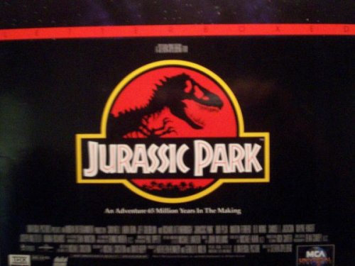 Laserdisc - Jurassic Park - Letterboxed