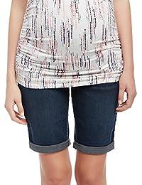 Motherhood Secret Fit Belly Cuffed Maternity Bermuda Shorts