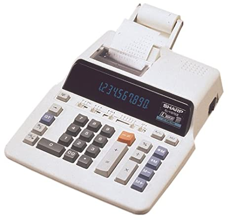 Sharp EL-1197GIII Heavy Duty Serial Printing Calculator