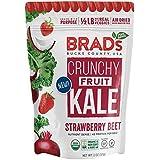 Brad's Plant Based Organic Crunchy Kale, Strawberry Beet, 12 Count
