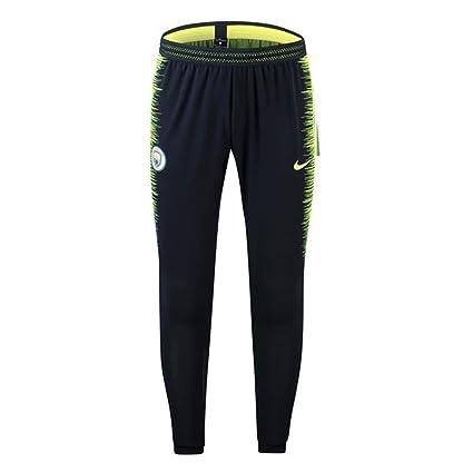 e2facf669b4d Amazon.com   Nike 2018-2019 Man City Strike Vaporknit Training Pants ...