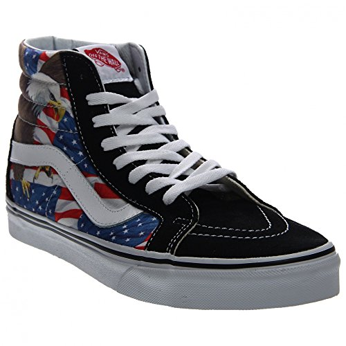 VANS Sk8-Hi Reissure Special Edition Free Bird USA Sneaker V3CAIE5 (free bird) black/true wh