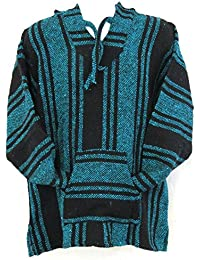 Assorted Deluxe Baja Poncho Hoodies in Assorted Basic Colors (Adult X-Large)