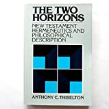 The Two Horizons 9780853645573