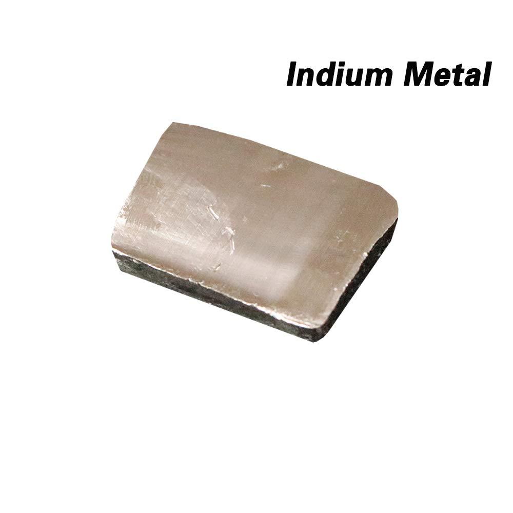 Indio de 30 gramos, metal indio, 99,99% puro - Phitoon: Amazon.es ...
