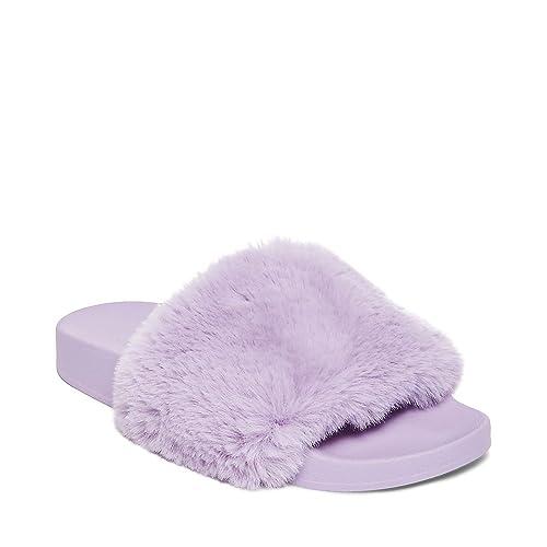 1a84fc3eee8 Steve Madden Women's Softey Flat Slide Sandal