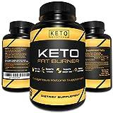 Keto Diet Pills - Fat Burner - Premier Keto Weight Loss Supplement for Men and Women - Exogenous Ketones from Shark Tank - Advanced Appetite Suppressant - BHB Salts Ketosis Energy Pills Rapid