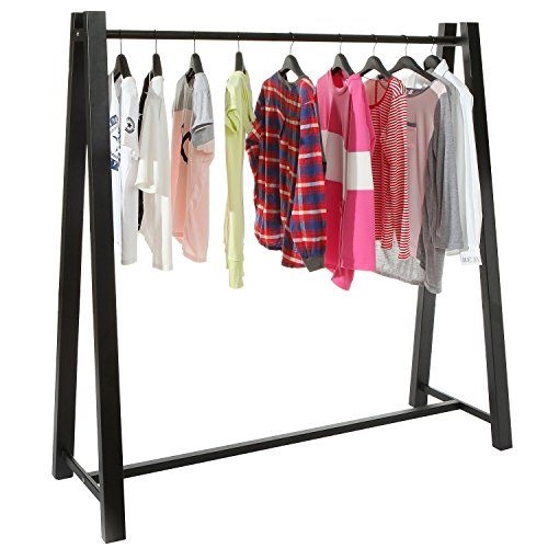MyGift Heavy Duty Metal Clothing Hanger Storage Organizer /