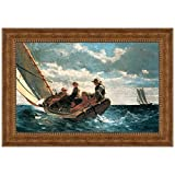 Design Toscano Breezing Up (A Fair Wind), 1876 Canvas Replica Painting: Small