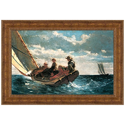 Design Toscano Breezing Up (A Fair Wind), 1876 Canvas Replica Painting: Small by Design Toscano