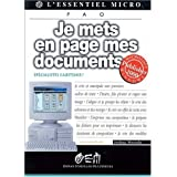 JE METS EN PAGE MES DOCUMENTS