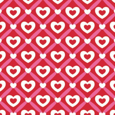 Heart Lattice Gift Wrapping Roll