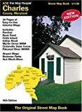 img - for Charles County, Maryland Street Map Book book / textbook / text book