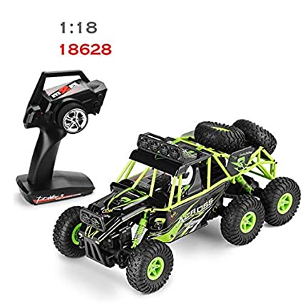 Amazon com: XuBa Wltoys 18628 RC Car 1:18 Remote Control Toy 6WD