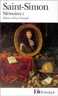 Mémoires, tome 1 par  Saint-Simon