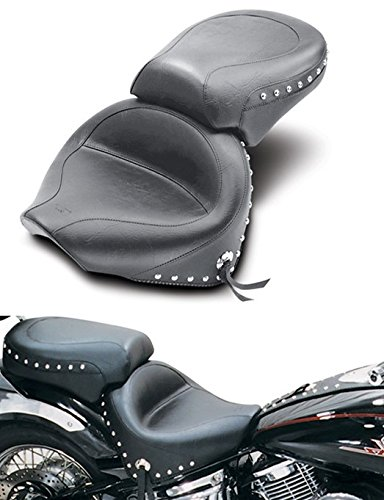 Mustang Studded 2 Piece (Mustang 2-piece Wide Studded Touring Seat 75910)