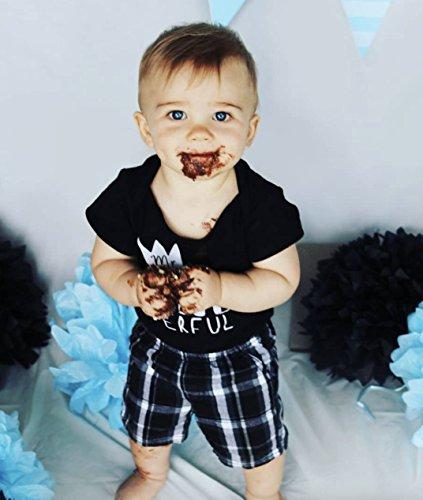d6a6ac7a4 Amazon.com: Mr One-Derful Baby Boys 1st Birthday Bodysuit First Birthday  Outfit for Boys: Clothing
